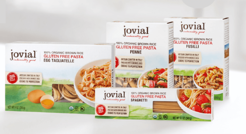 Jovial Food Gluten Free Rice Pasta Review