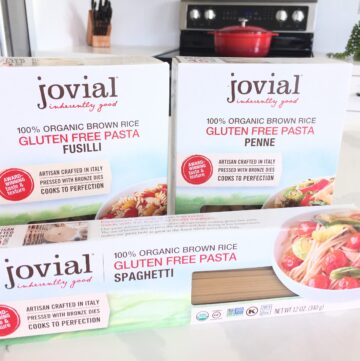 Jovial Gluten Free Pasta Review