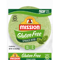 Mission Gluten Free Spinach Tortillas