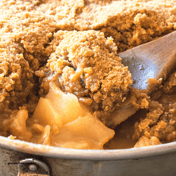The BEST Gluten Free Apple Crisp Recipe
