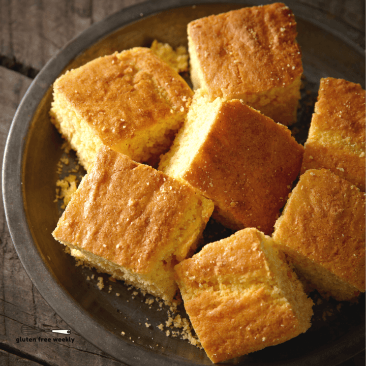 The BEST Gluten Free Cornbread Recipe