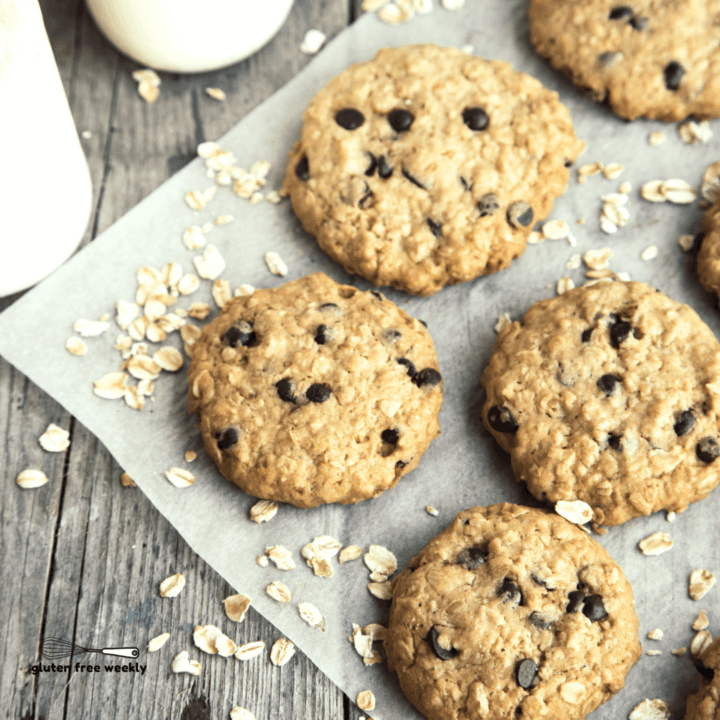 The BEST Gluten Free Oatmeal Cookie Recipe