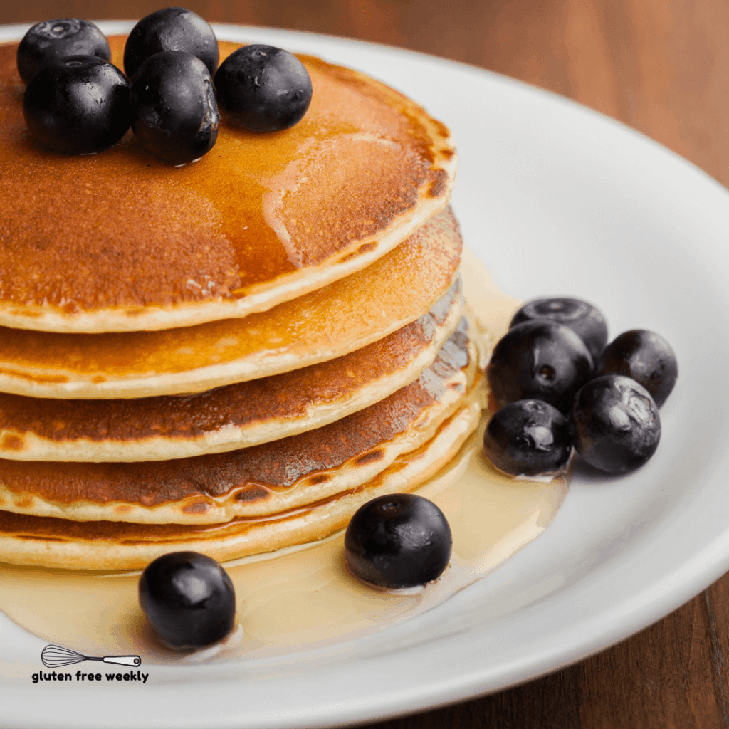 The BEST Gluten Free Pancake Recipe