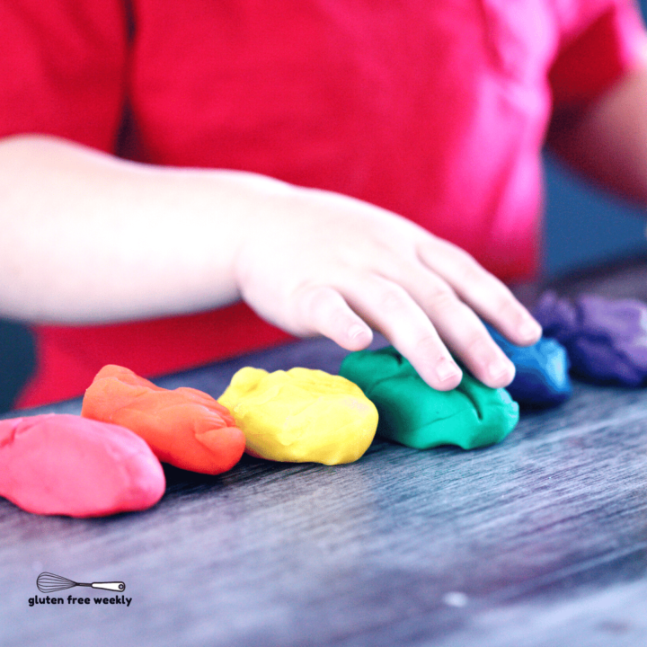 The BEST Gluten Free Playdough Recipe