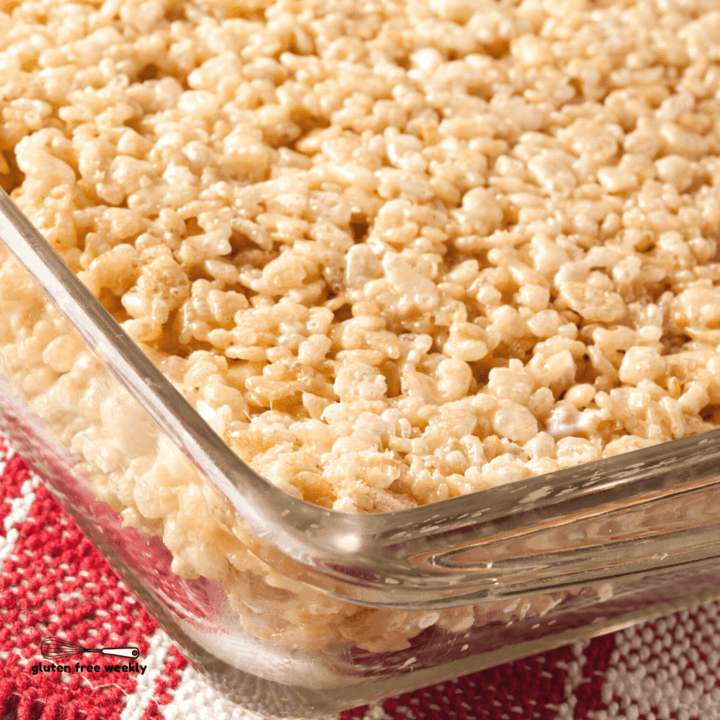 The BEST Gluten Free Rice Crispy Treats Recipe