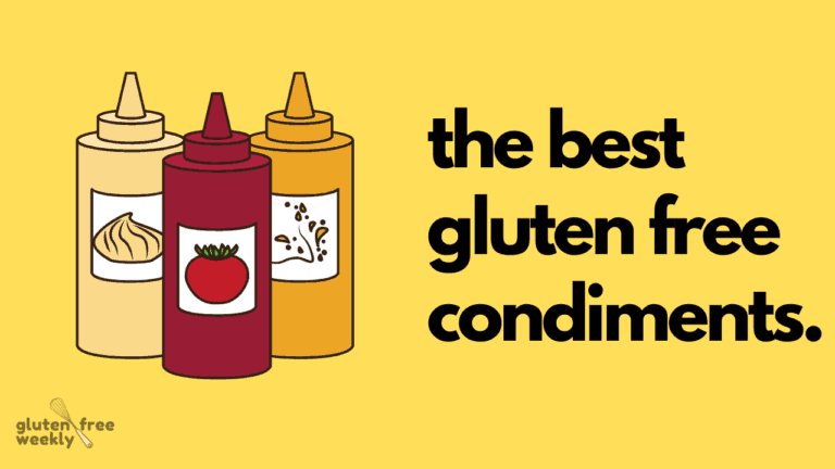 The Best Gluten Free Condiments