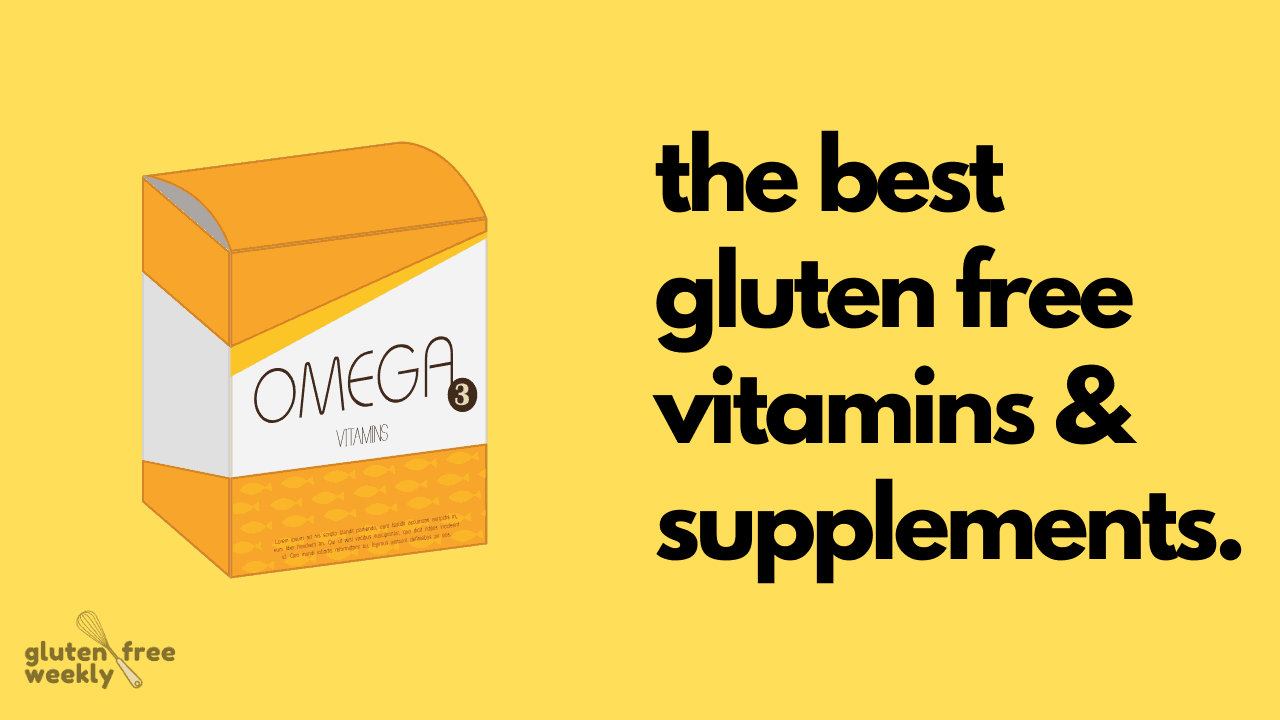 The Best Gluten Free Vitamins and Supplements